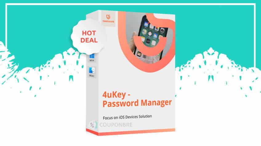 tenorshare 4ukey password manager discount