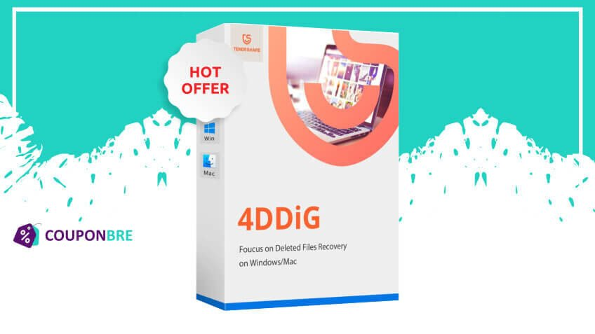 Tenorshare 4ddig mac data recovery coupons