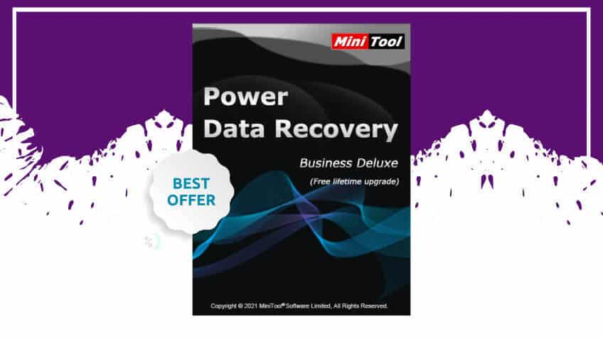 Minitool power data recovery business deluxe
