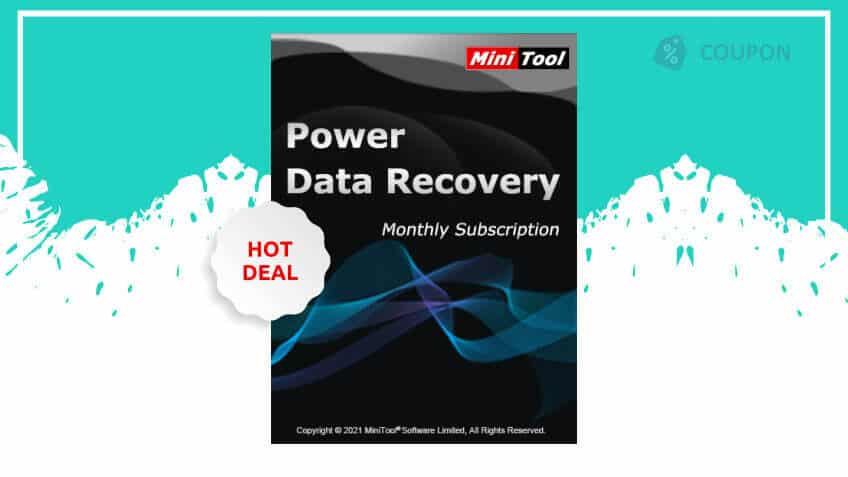 Minitool power data recovery monthly subscription