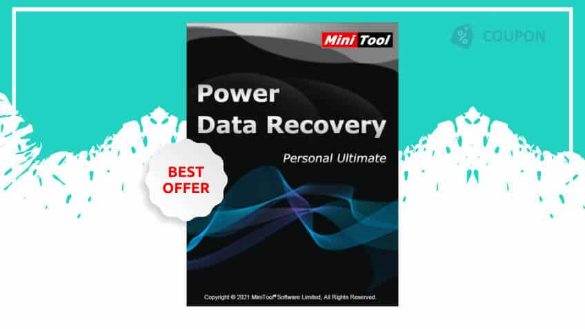 Minitool power data recovery personal ultimate