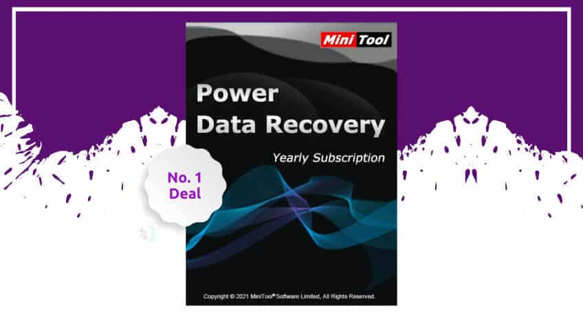 Minitool power data recovery yearly subscription