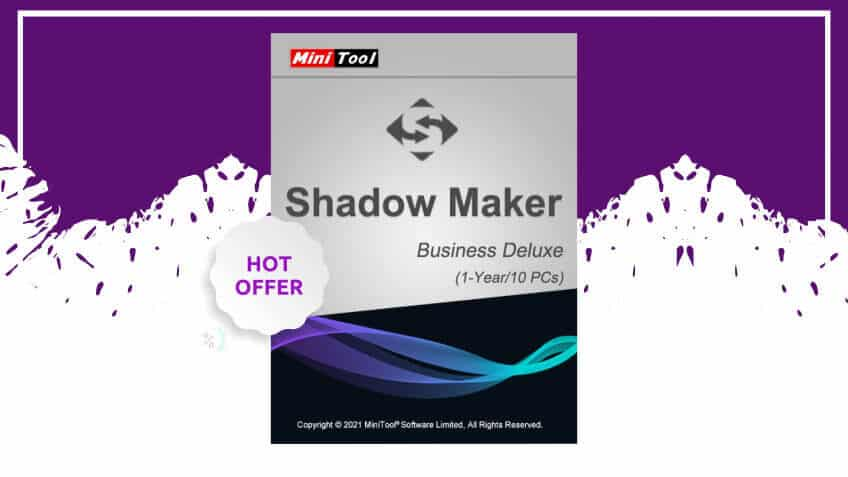 Minitool Shadowmaker business deluxe coupon code